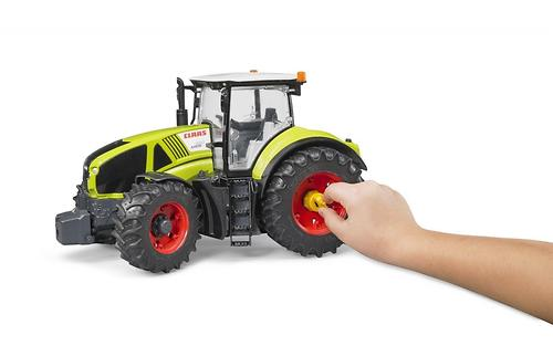 Трактор Bruder Claas Axion 950 c погрузчиком (9)