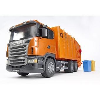 Bruder мусоровоз Scania - Minim