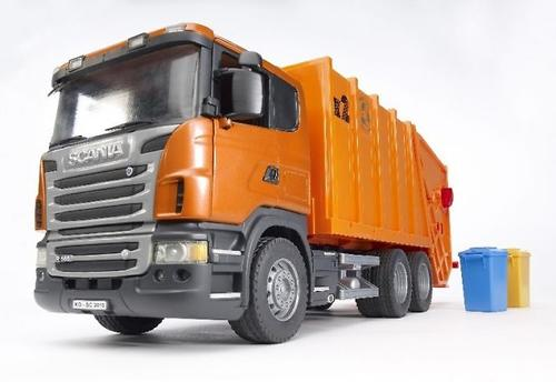 Bruder мусоровоз Scania (4)