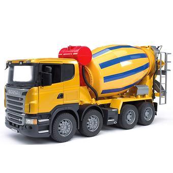 Bruder бетономешалка Scania - Minim