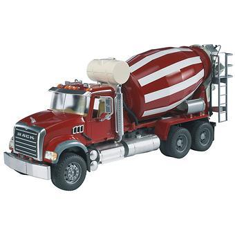 Bruder бетономешалка N MACK Granite Truck - Minim