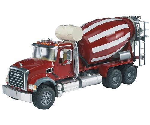 Bruder бетономешалка N MACK Granite Truck (3)
