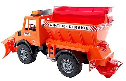 Снегоуборочная машина Bruder (7)