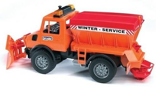 Снегоуборочная машина Bruder (6)