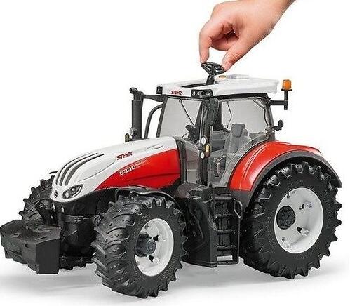 Трактор Bruder Steyr 6300 Terrus CVT (8)