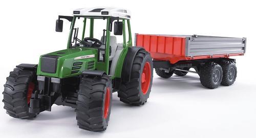 Трактор с прицепом Bruder (7)