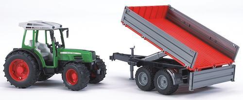 Трактор с прицепом Bruder (11)