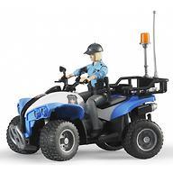 Полицейский квадроцикл Bruder с фигуркой