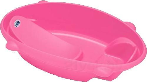 Ванночка Cam Bollicina анатомическая Розовая (1)