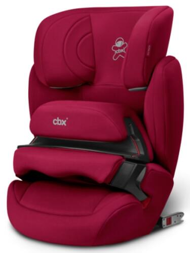 Автокресло Cybex CBX Aura-Fix Crunchy Red (6)