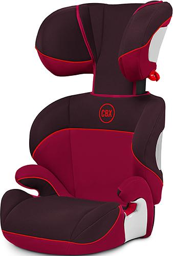 Автокресло Cybex Solution Rumba Red (7)