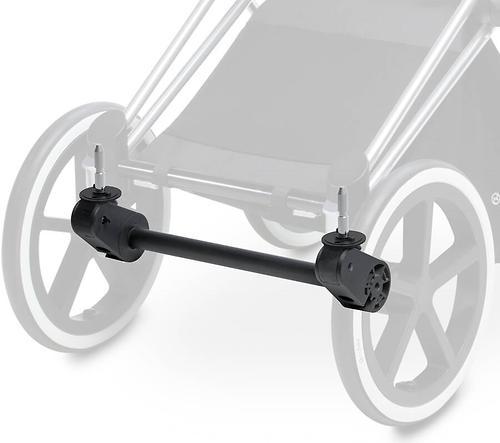 Адаптер-Ось передних колес Matt Black для коляски Priam (1)