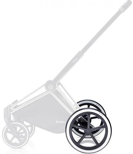 Комплект задних колес Trekking Cybex TR Chrome для коляски Priam (1)