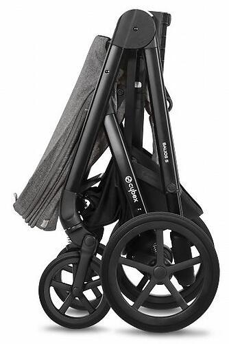 Коляска Cybex Balios S Lavastone Black (16)