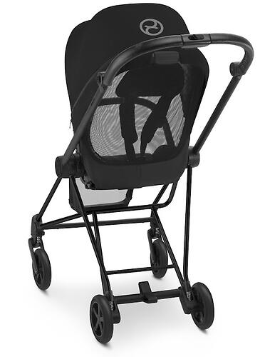 Коляска Cybex Mios Black Butterfly (14)