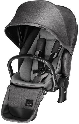Сиденье Lux для коляски Cybex Priam Manhattan Grey (6)
