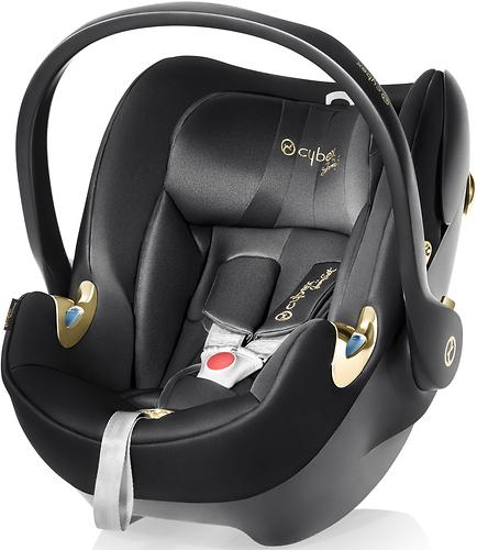 Автокресло Cybex Aton Q by Jeremy Scott Wings Black (7)