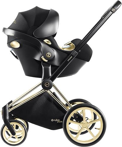 Автокресло Cybex Aton Q by Jeremy Scott Wings Black (10)
