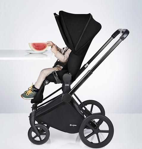Коляска Cybex Priam by Jeremy Scott Wings black (14)