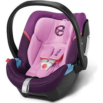 Автокресло Cybex Aton 4 Grape Juice - Minim