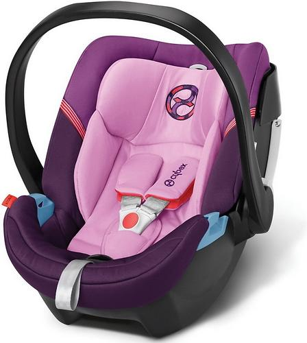 Автокресло Cybex Aton 4 Grape Juice (6)