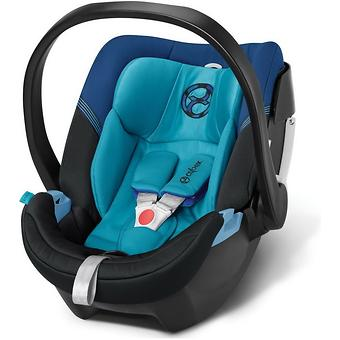 Автокресло Cybex Aton 4 True Blue - Minim