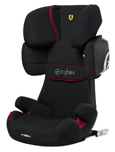 Автокресло Cybex Solution X2-Fix FE Ferrari Victory Black (8)