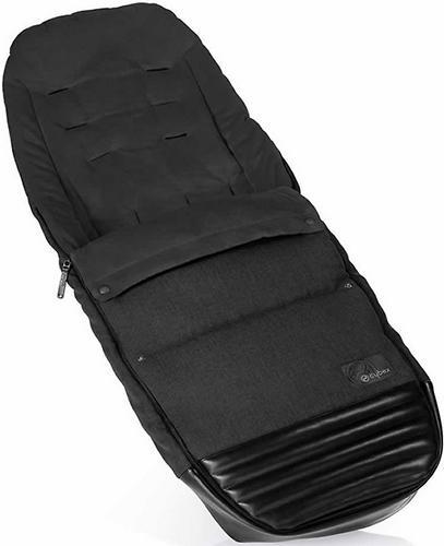 Накидка для ног для коляски Cybex Priam Happy Black (1)