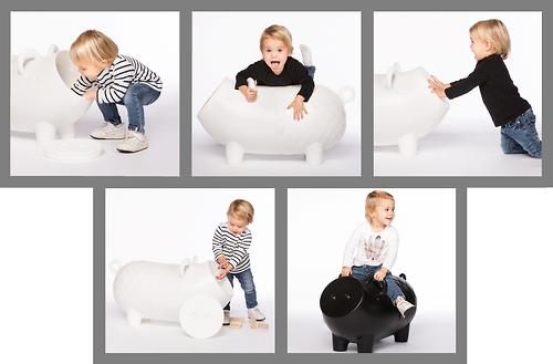 Свинка для хранения игрушек Wanders Hausschwein White (14)