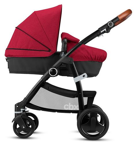 Коляска-трансформер CBX by Cybex Leotie Flex Lux Crunchy Red (10)