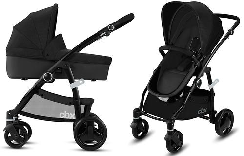 Коляска 2в1 Cybex CBX Leotie Pure Smoky Anthracite (9)