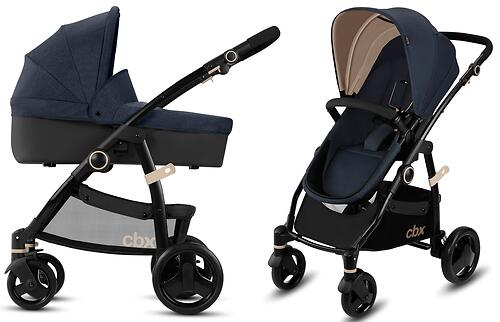 Коляска 2в1 CBX by Cybex Leotie Pure Jeansy Blue (9)