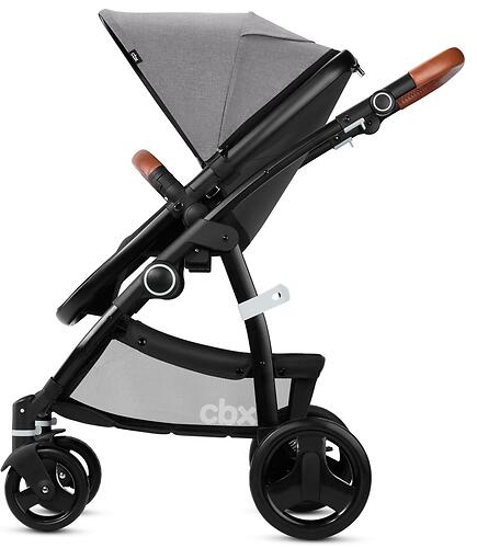 Коляска 2в1 CBX by Cybex Leotie Lux Comfy Grey (10)