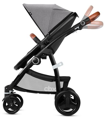Коляска 2в1 CBX by Cybex Leotie Lux Comfy Grey (11)