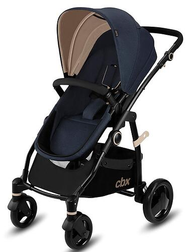Коляска 2в1 CBX by Cybex Leotie Pure Jeansy Blue (8)