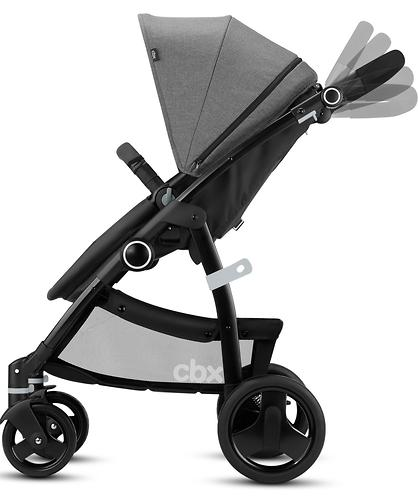 Коляска-трансформер CBX by Cybex Leotie Flex Smoky Anthracite (10)