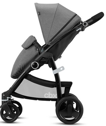 Коляска-трансформер CBX by Cybex Leotie Flex Smoky Anthracite (9)