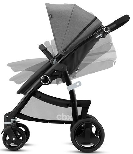 Коляска-трансформер CBX by Cybex Leotie Flex Smoky Anthracite (11)