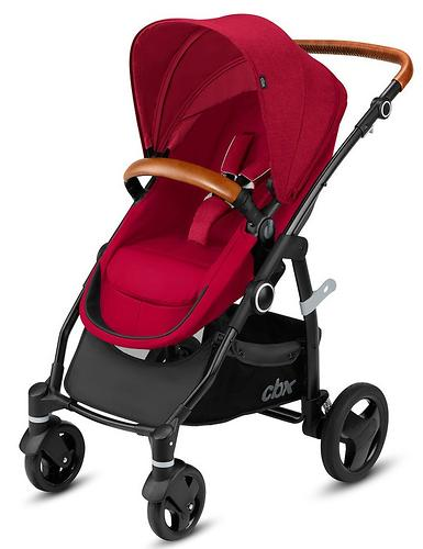 Коляска-трансформер CBX by Cybex Leotie Flex Lux Crunchy Red (9)