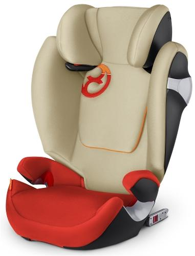 Автокресло Cybex Solution M-Fix Autumn Gold (5)