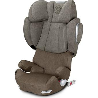 Автокресло Cybex Solution Q3-fix Plus Cashmere Beige - Minim