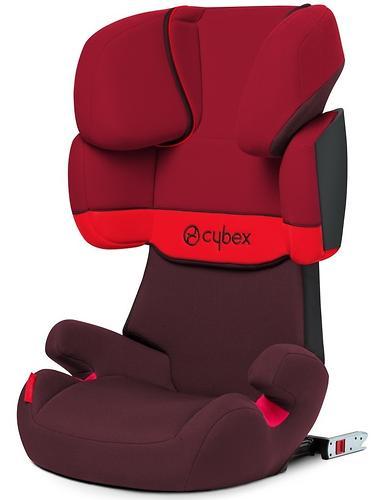 Автокресло Cybex Solution X-Fix Rumba Red (7)