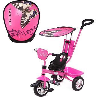 Велосипед Capella City Trike 3-х колесный, 1-5 лет, Pink - Minim