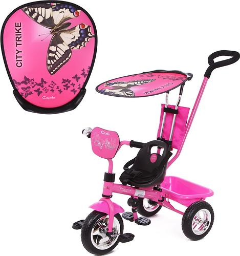 Велосипед Capella City Trike 3-х колесный, 1-5 лет, Pink (1)