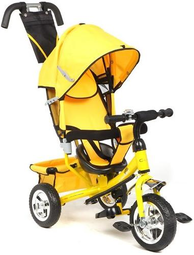 Велосипед Capella Action Trike II 3-х колесный Yellow (1)