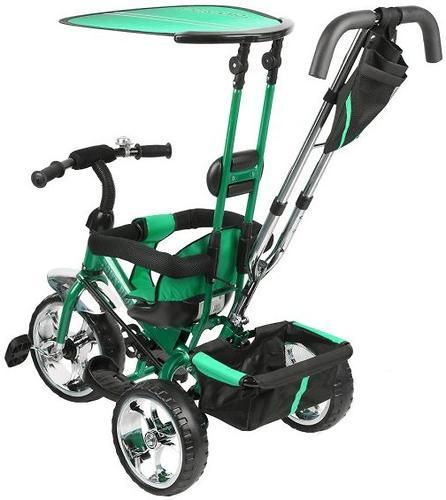 Уценка! Велосипед Capella Town Rider 3-х колесный Green (7)