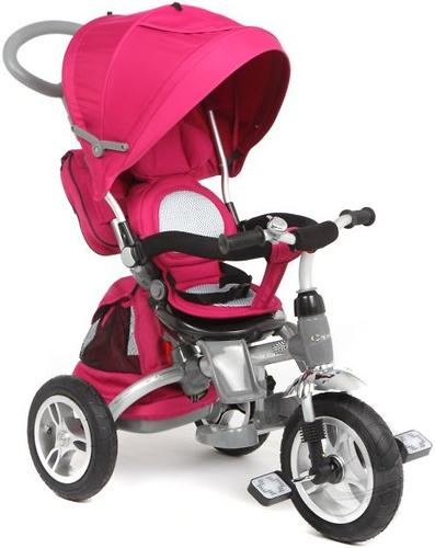 Велосипед 3-х колесный Capella Twist Trike 360 Pink (3)