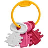 Прорезыватель Chicco Первые ключики розовый от 3 мес