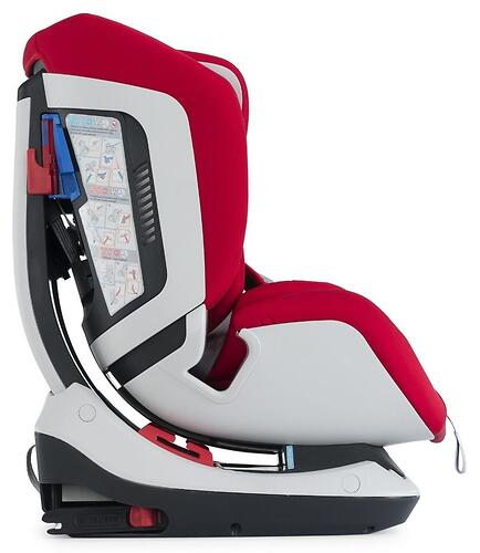Автокресло Chicco Seat Up 012 Red (12)