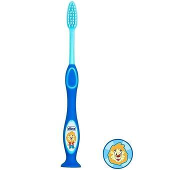 Зубная щетка Chicco голубая 3-6 лет - Minim